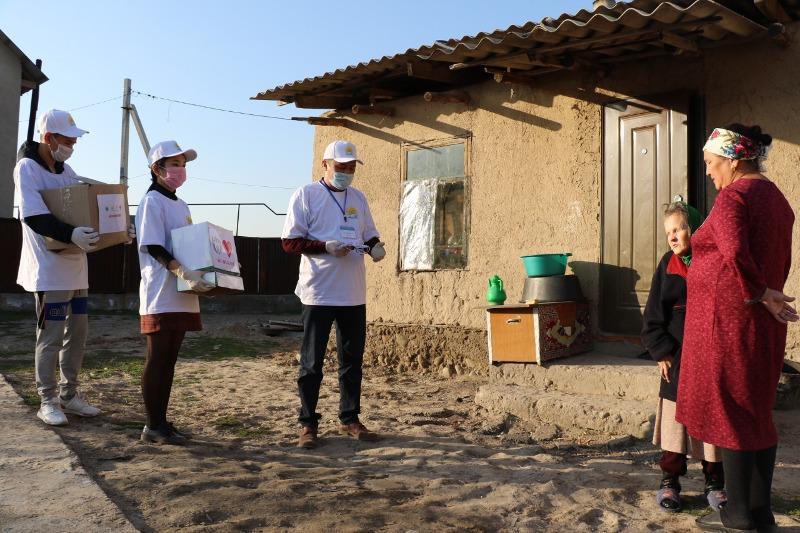 Предприниматели Алматинской области помогают своим землякам в условиях ЧП