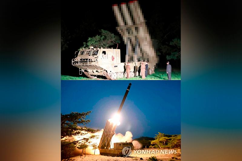 N.K. fired missiles from launcher similar to one unveiled last year: JCS