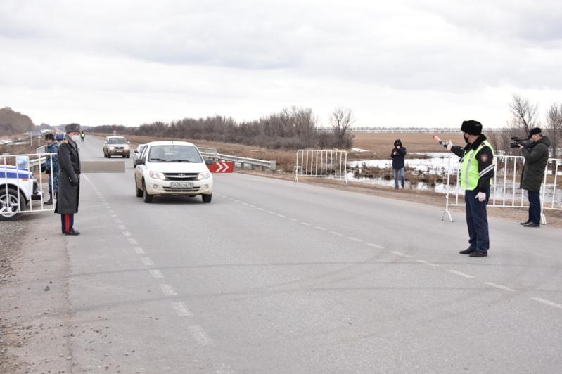 После введения карантина вокруг Кокшетау развернут 12 блокпостов