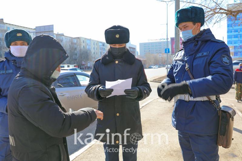 За три дня более 300 человек наказано за нарушение карантина в столице