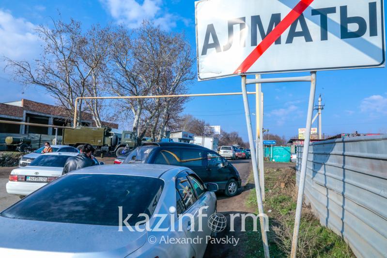 Троих иностранцев арестовали за попытку проникнуть в закрытый на карантин Алматы
