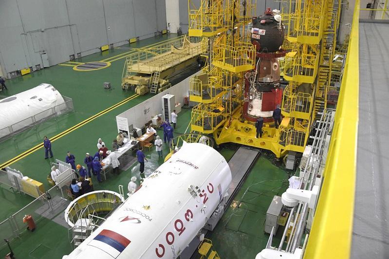 Девять дней до старта: на Байконуре продолжается подготовка к запуску на МКС