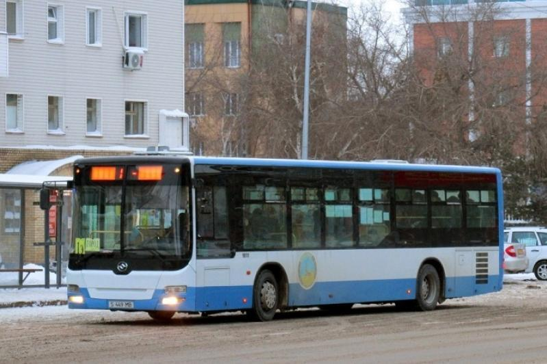 В Павлодаре ограничили движение автобусов с 6:30 до 20:00