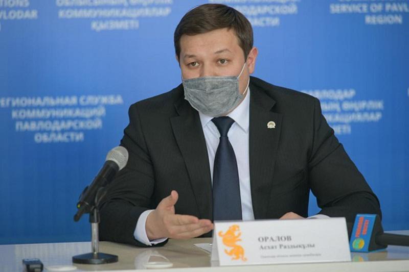 Асхат Оралов об усилении режима в Павлодарской области: С внутренним перемещением проблем не будет