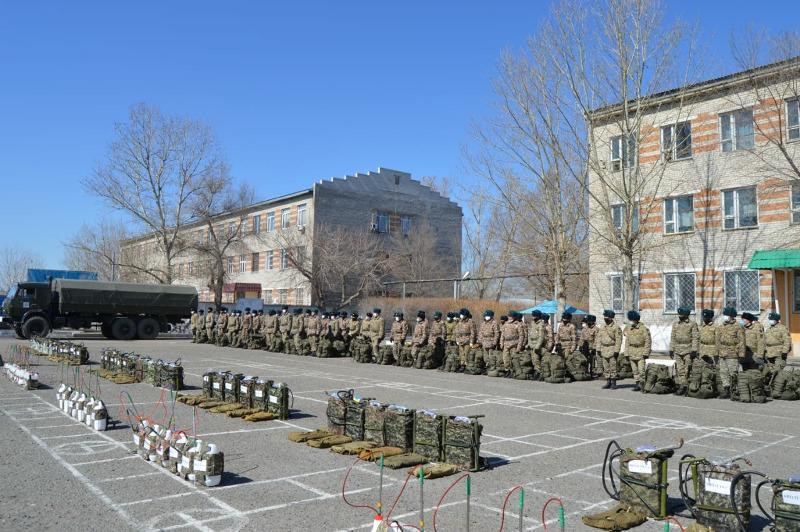 Военнослужащие регионального командования «Восток» выедут в Павлодар для дезобработки