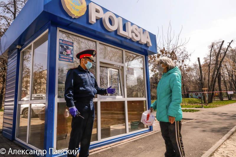 Разъясняем, убеждаем, просим: полиция призывает алматинцев соблюдать режимы ЧП и карантина