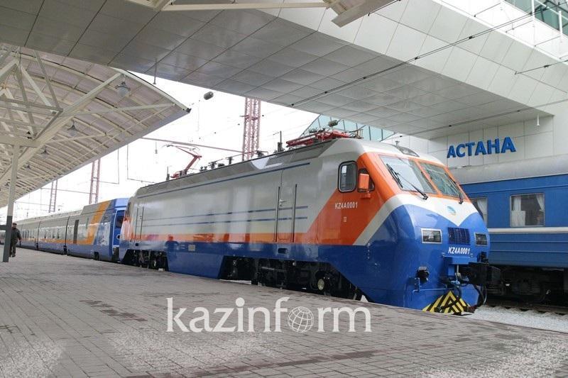 В Казахстане приостанавливается движение ряда пассажирских поездов