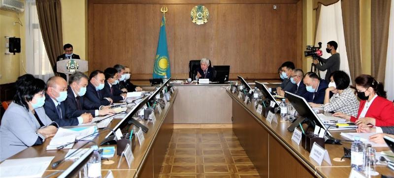 Сапарбаевқа Жамбыл облысының әлеуметтік-экономикалық даму көрсеткіштері баяндалды