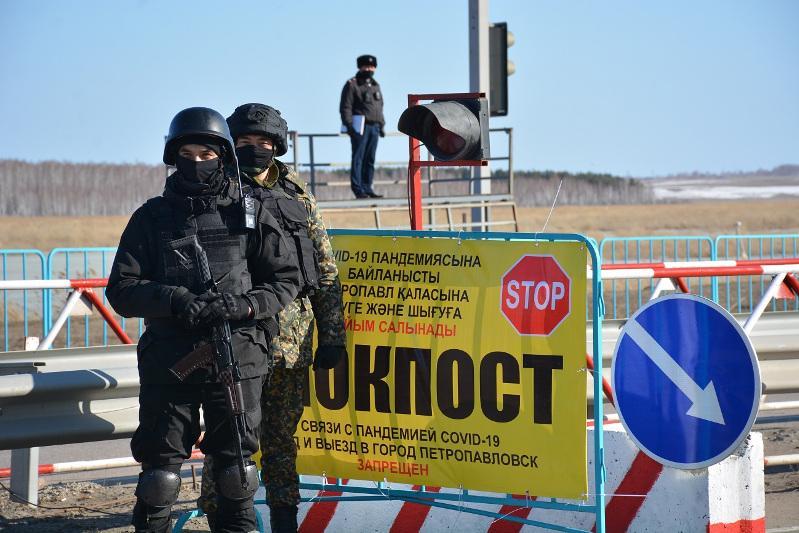 О порядке проезда через блокпосты рассказали в Петропавловске