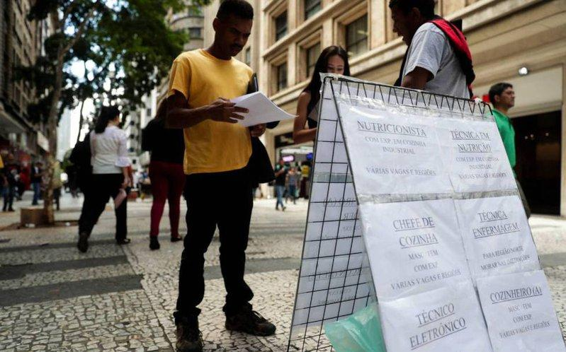 Brazil reports 12.3 million unemployed in February