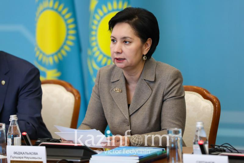Abdykalikova leaves Kazakh Parliament to take up new post