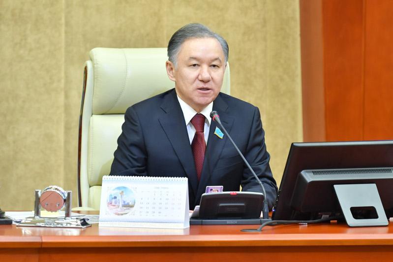 Нурлан Нигматулин: Депутаты окажут законодательную поддержку антикризисных мер Президента