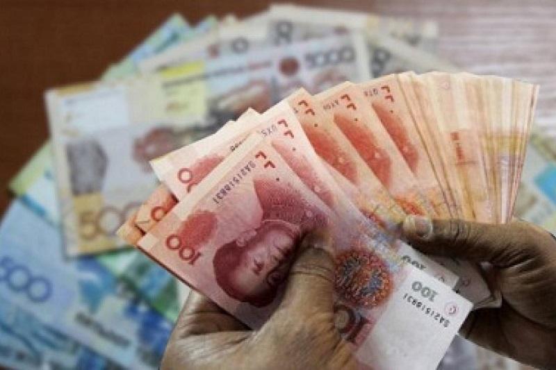 1日早盘人民币兑坚戈汇率1:63.2390