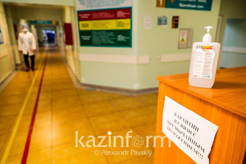 В Атырау областную больницу закрыли на двухдневный карантин