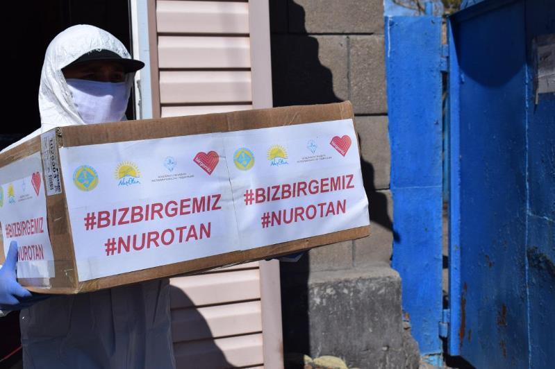 #Bizbirgemiz: Спортсмены помогают старшему поколению