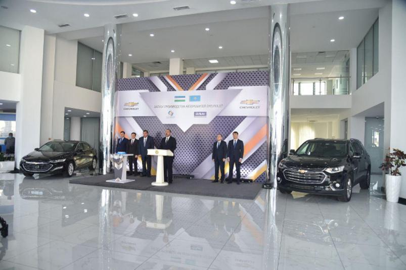 Kazakhstan launches UzAuto Motors cars production