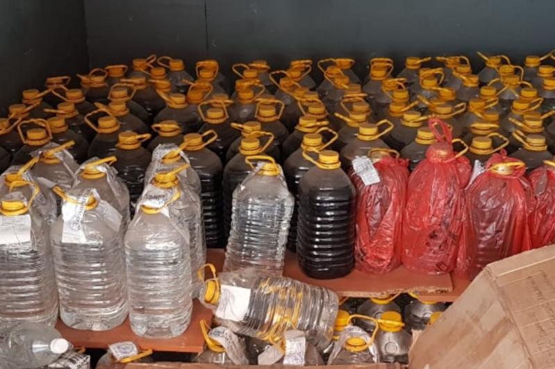 Изъятую алкогольную продукцию будут использовать как антисептик в медучреждениях ВКО