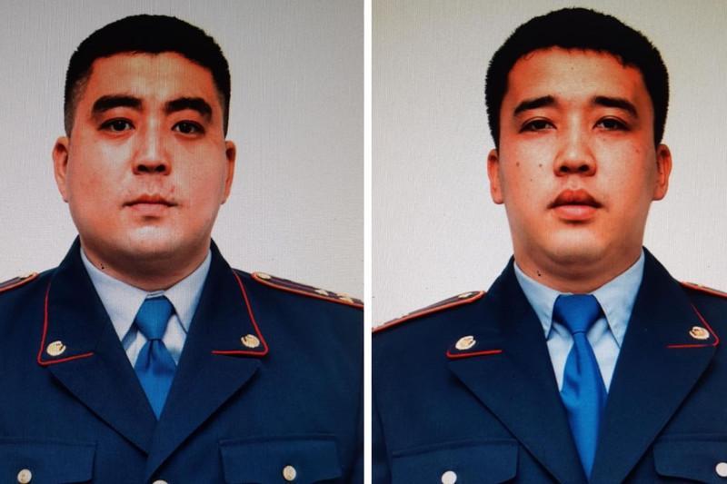 Полицейские спасли детей от пожара в Кызылорде