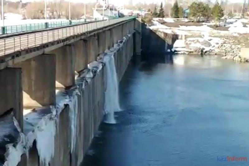 Уровень воды повышается в реке Есиль в СКО