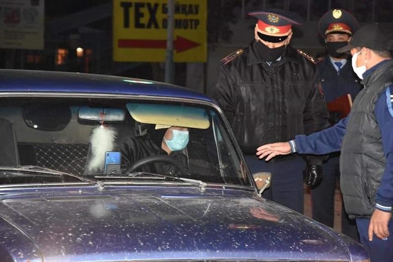 Туркестанская область: в Жетысайском районе усилены ограничительные меры