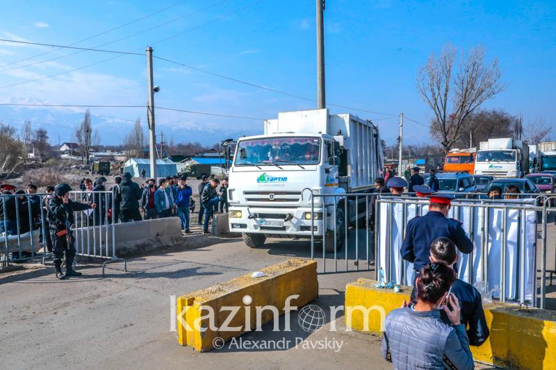 Ограниченвыезд и въезд в город Атырау