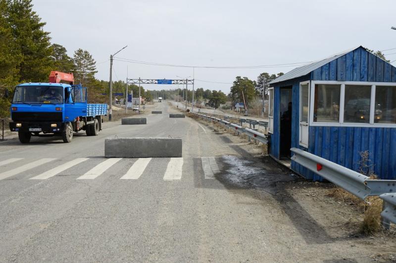 Скопление автотранспорта на блокпостах Семея не наблюдается