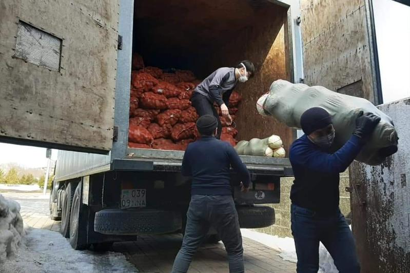 Нуждающимсясемьям помогаетАНК Карагандинской области