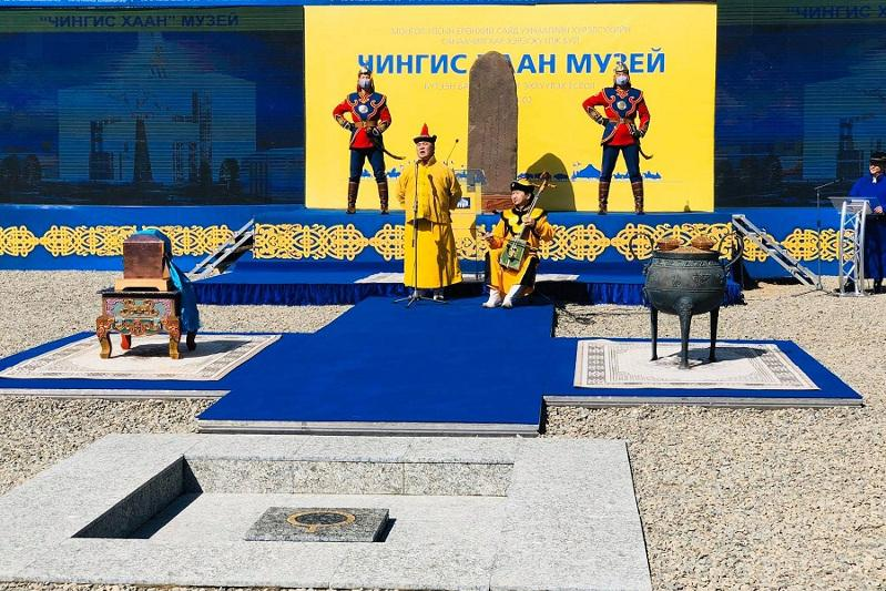 Mongolia starts construction of Chingis Khan Museum