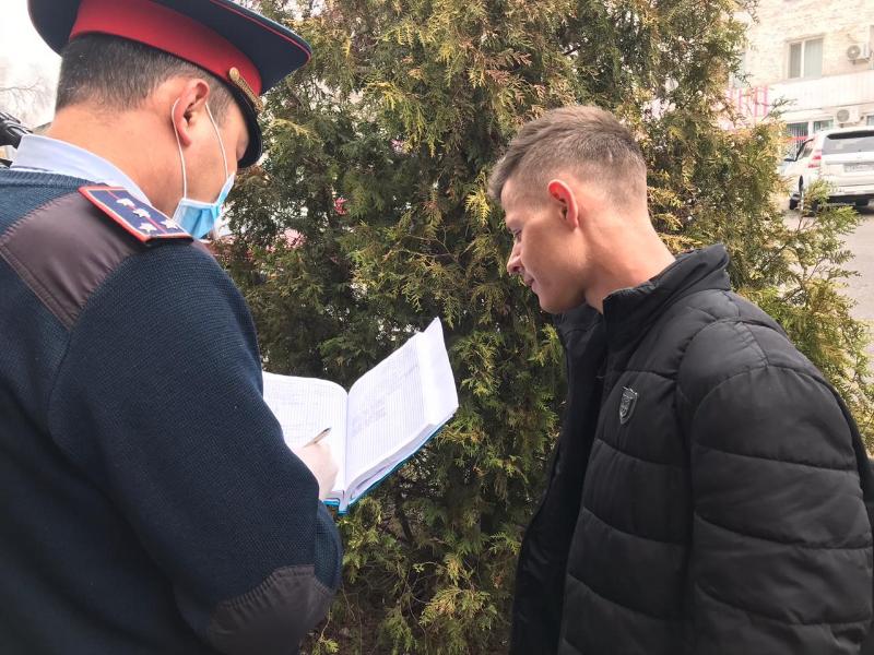 Как соблюдается масочный режим в Талдыкоргане