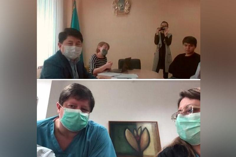 Israeli doctors share experience with Kazakhstani colleagues