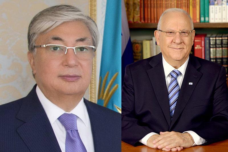 Реувен Ривлин пригласил Касым-Жомарта Токаева посетить Израиль с визитом  осенью 2020 года
