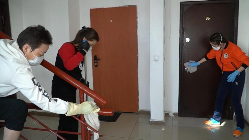 Жители столицы запустили челлендж «Чистота в доме – залог здоровья»