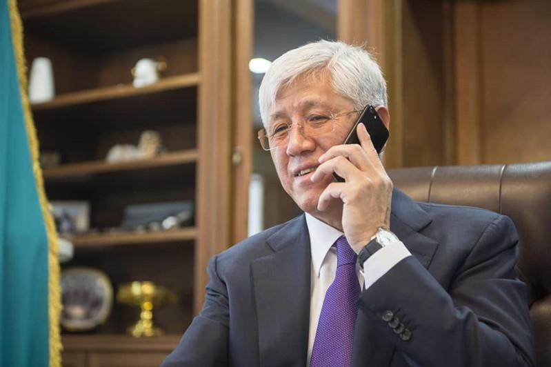 Амандык Баталов доложил Нурсултану Назарбаеву о развитии Алматинской области