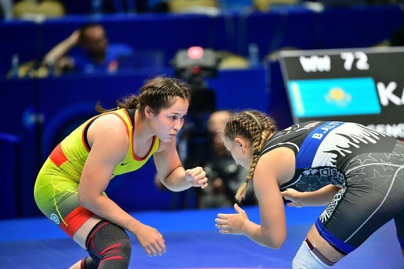 Казахстанские спортсменки попали в топ-4 рейтинга UWW