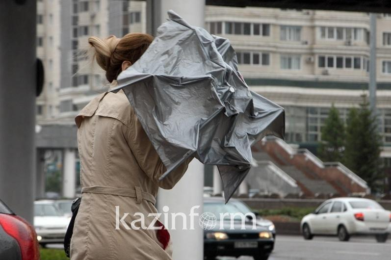 Windstorm forecast for northern, eastern and central regions of Kazakhstan