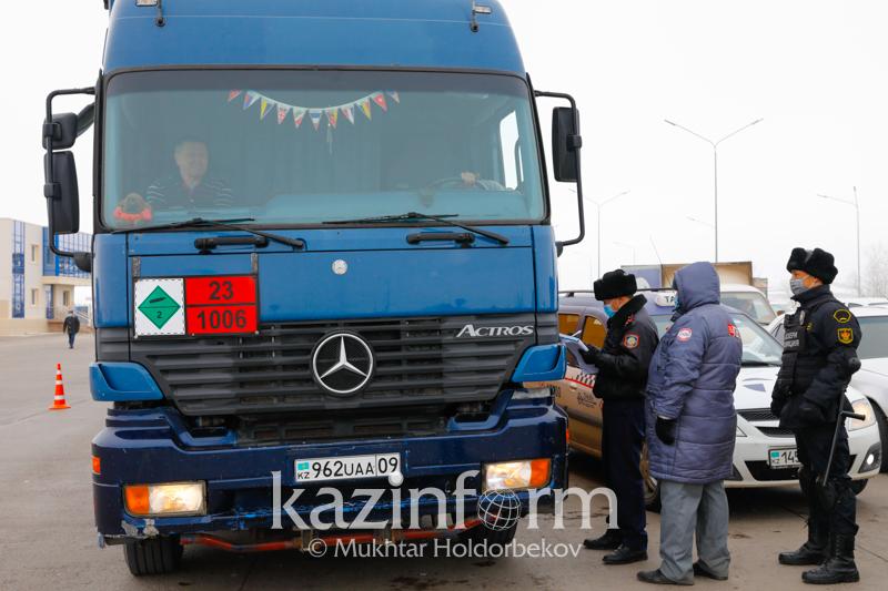 Как грузовому автотранспорту пройти зелёный коридор в Нур-Султан