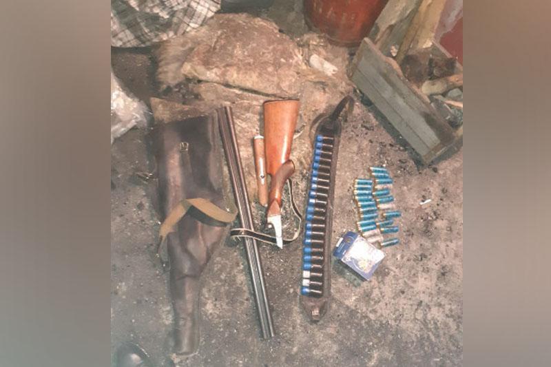 Оружие и золото похитили из дома бизнесмена в ВКО