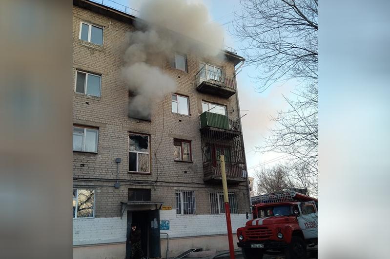 Пожар в многоэтажке унес жизнь женщины в Семее