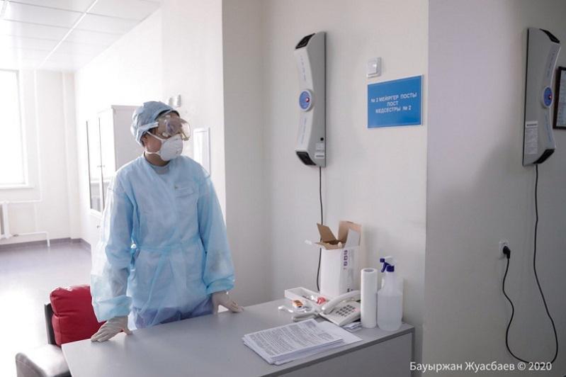 Алматыда коронавирус инфекциясы табылмаған 203 адам ауруханадан шықты