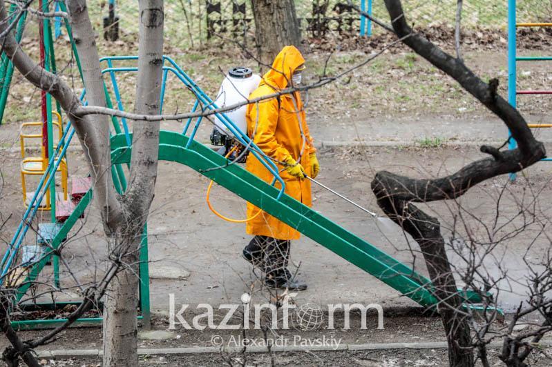 Almatyda dezınfektsııa jumystaryna qansha qarajat bólindi