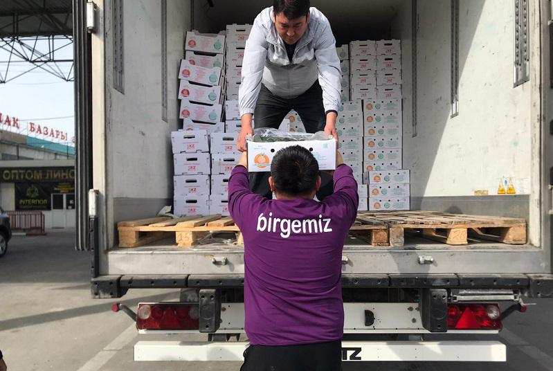 Туркестанские предприниматели принимают активное участие в акции «Біз біргеміз»