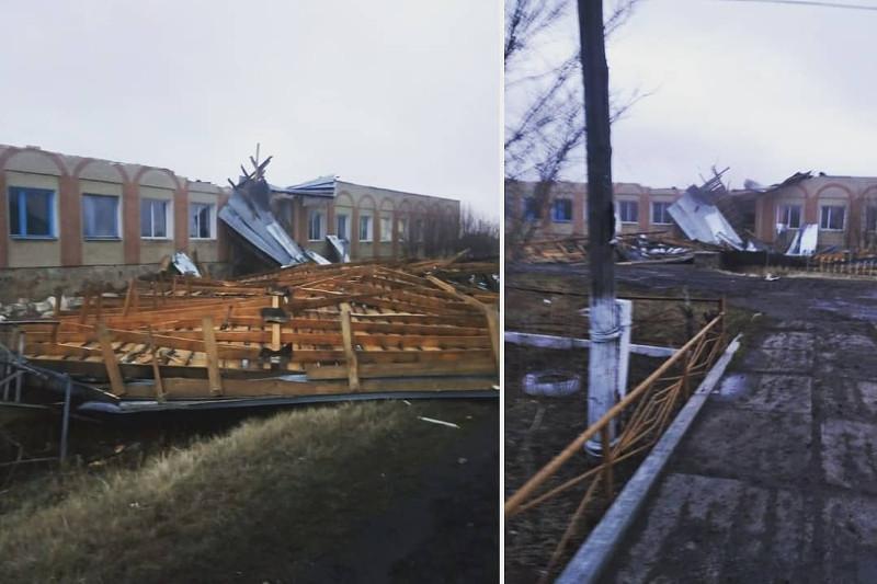 С 24 объектов сорвало ветром крышу минувшей ночью в СКО