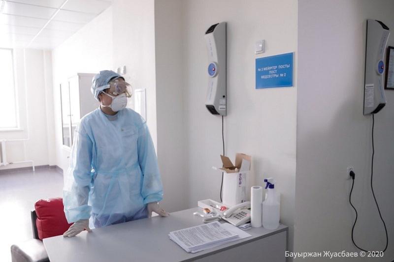 Қызылордада коронавирус жұқтырған 2 науқас ауруханаға жатудан бас тартқан