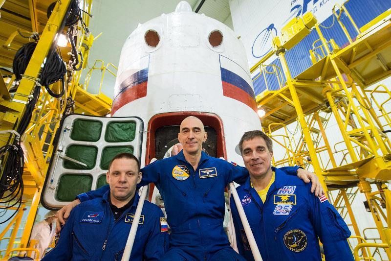 На космодроме Байконур утвержден экипаж к полету на корабле «Союз МС-16»