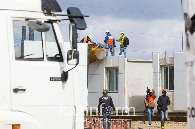 Пригодится ли Казахстану опыт скоростного создания госпиталей при строительстве домов