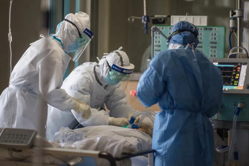 努尔苏丹市5名冠病患者病情危重