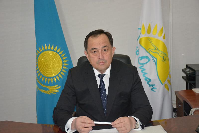 Алимжан Куртаев: Елбасы определил, что общими усилиямиказахстанцы преодолеют любые трудности