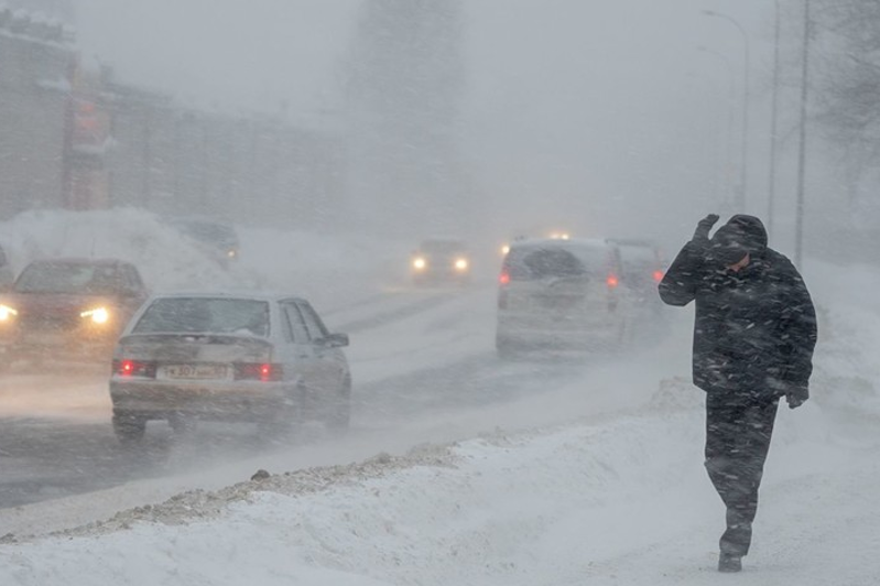 Blizzard and fog in store for Akmola region on April 9