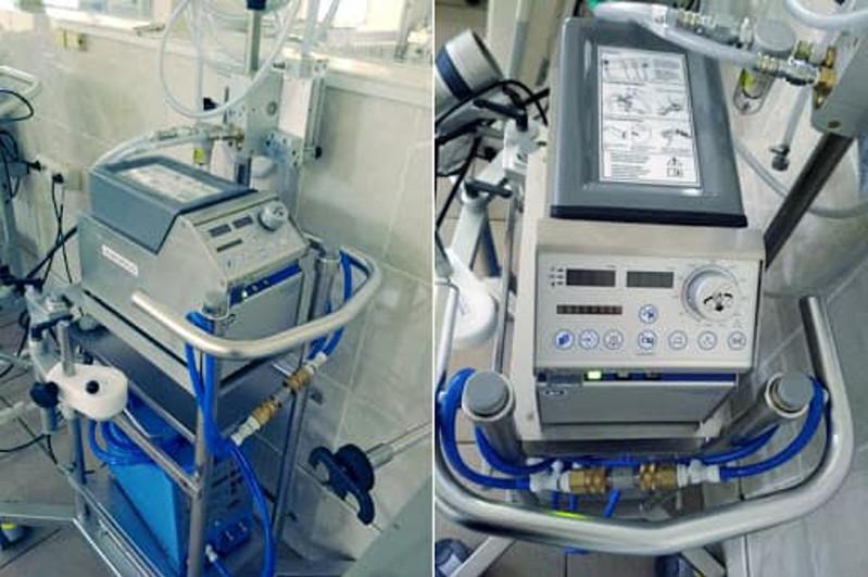 Университетский госпиталь Семея дополнительно оснащен аппаратами ИВЛ