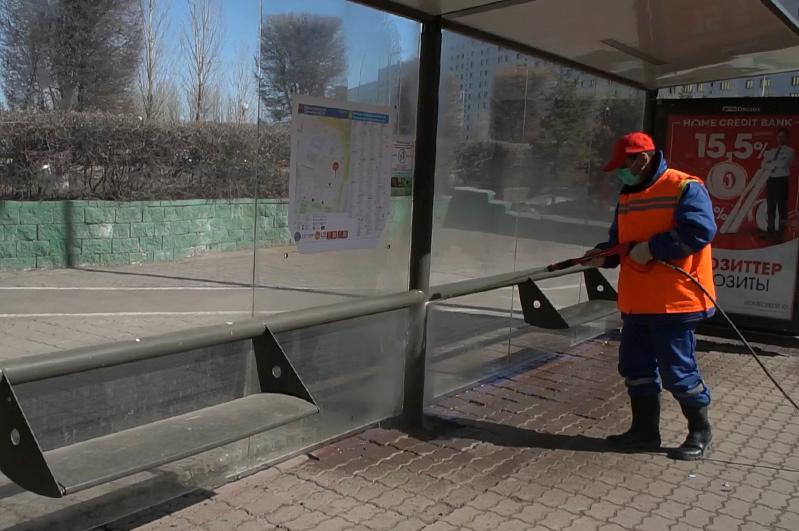 Коммунальные службы премируют за уборку улиц столицы в период карантина